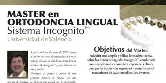 Profesores extranjeros, nacionales y locales que participamos en el Máster de Ortodoncia Lingual