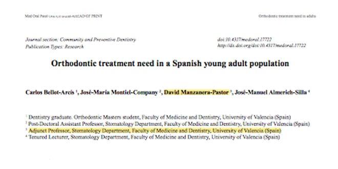 Cuántos adultos necesitan ortodoncia en Valencia