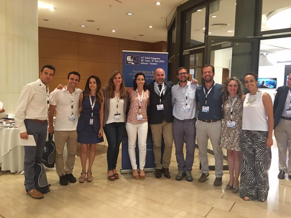 reunión bianual de la Sociedad Europea de Ortodoncia Lingual en Atenas, Grecia