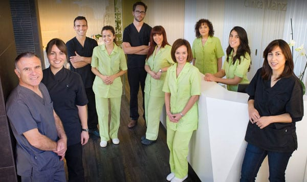 equipo clinica dental manzanera